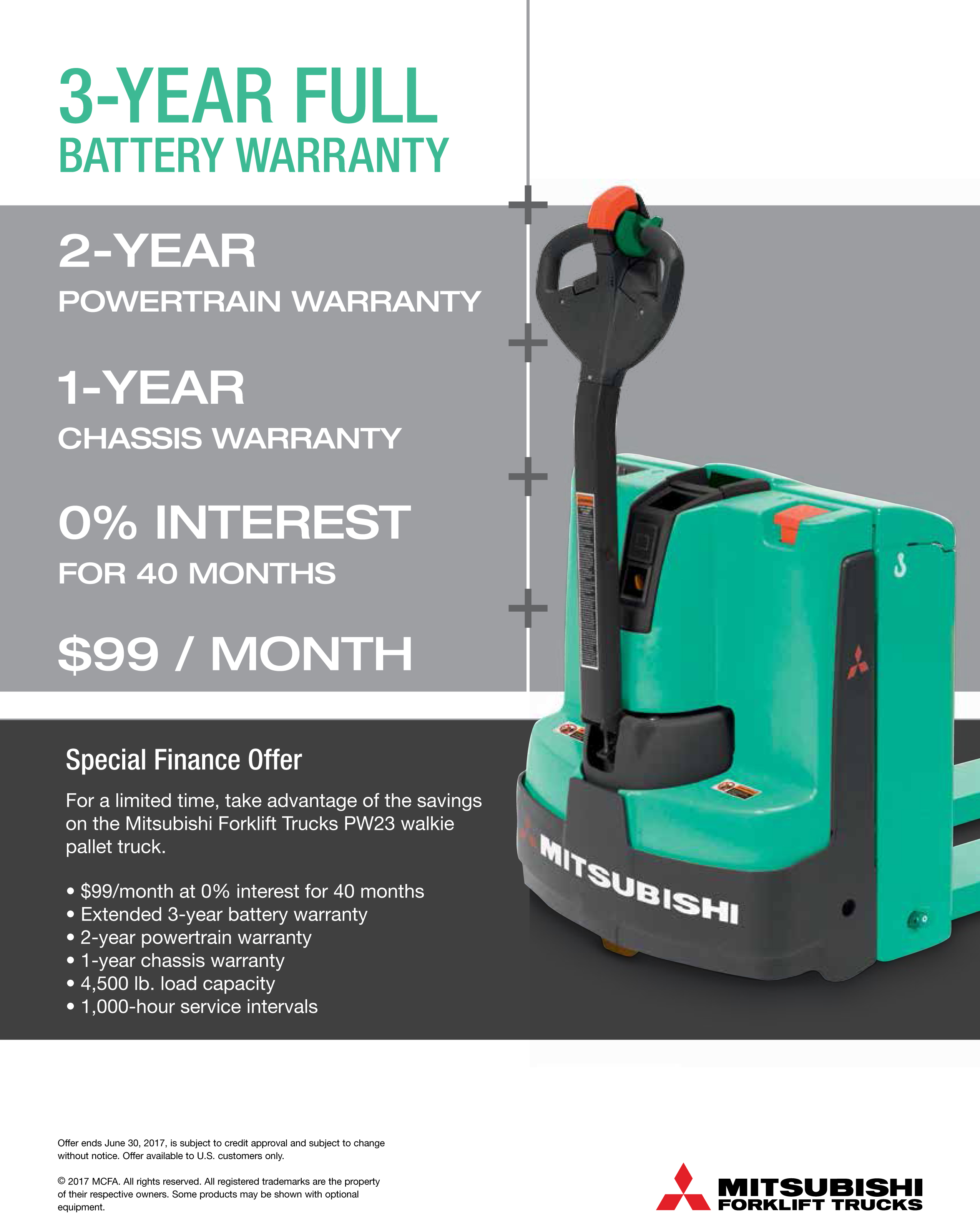 3-Year Full Battery Warranty